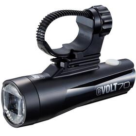 CatEye GVolt 70 HL-EL551GRC Reflektor przedni, black